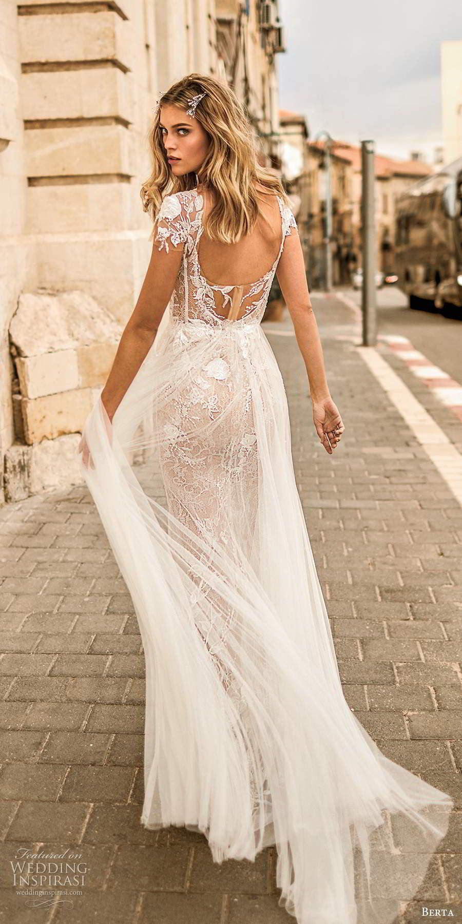 "Muse by Berta 2020 Wedding Dresses — ""Tel Aviv"" Bridal"