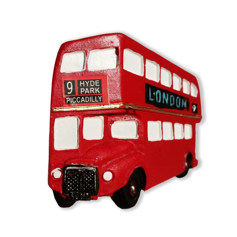 Memorable Detailed 3-D London City Scene Collectible UK Magnet Souvenir Aimant // Magnet // Magnete // Im/án! Classic British UK Collectible Magnet Souvenir // Speicher // Memoria Here/'s a Memorable London Souvenir