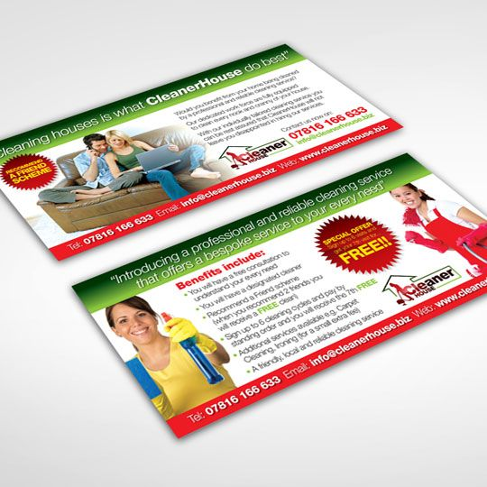 House Cleaning flyer design for Cleaner House #cleaningflyer - house cleaning flyer