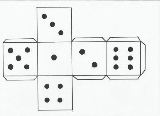 How to Make a Dice Elementary Math Spanish classroom, Spanish