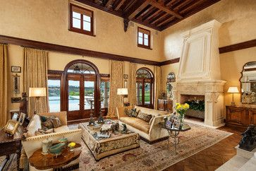 Custom Beverly Hills Estate - mediterranean - Living Room - Los Angeles - Buda Design
