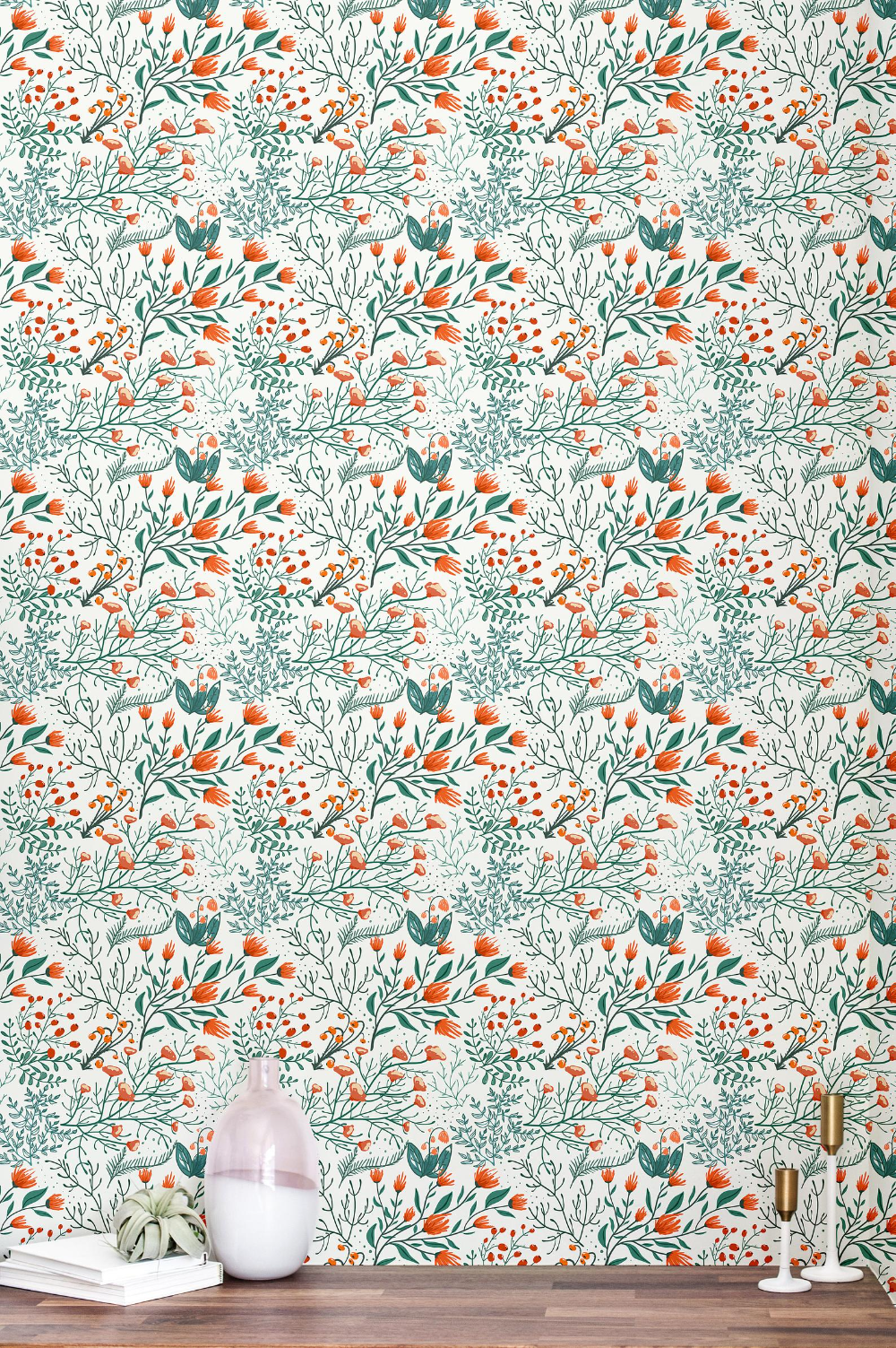 Botanical Peel And Stick Wallpaper Tile Self Adhesive Wallpaper Floral Accent Wall Contact Paper 49 Peel And Stick Wallpaper Self Adhesive Wallpaper Floral Wallpaper