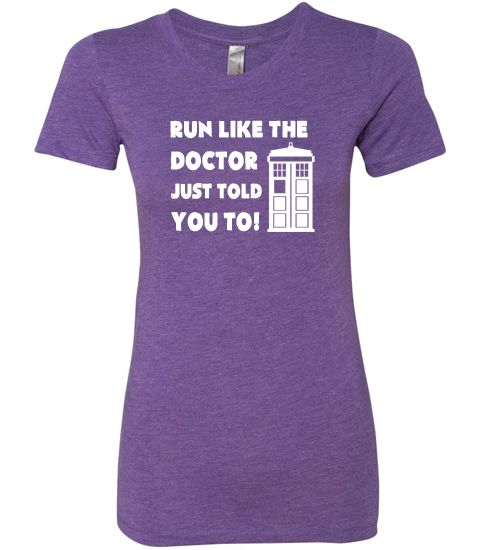 Doctor Who Running Shirt