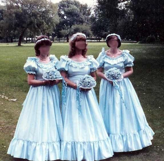 Ugliest Celeb Wedding Dress: The Ugliest Bridesmaid Dresses Ever