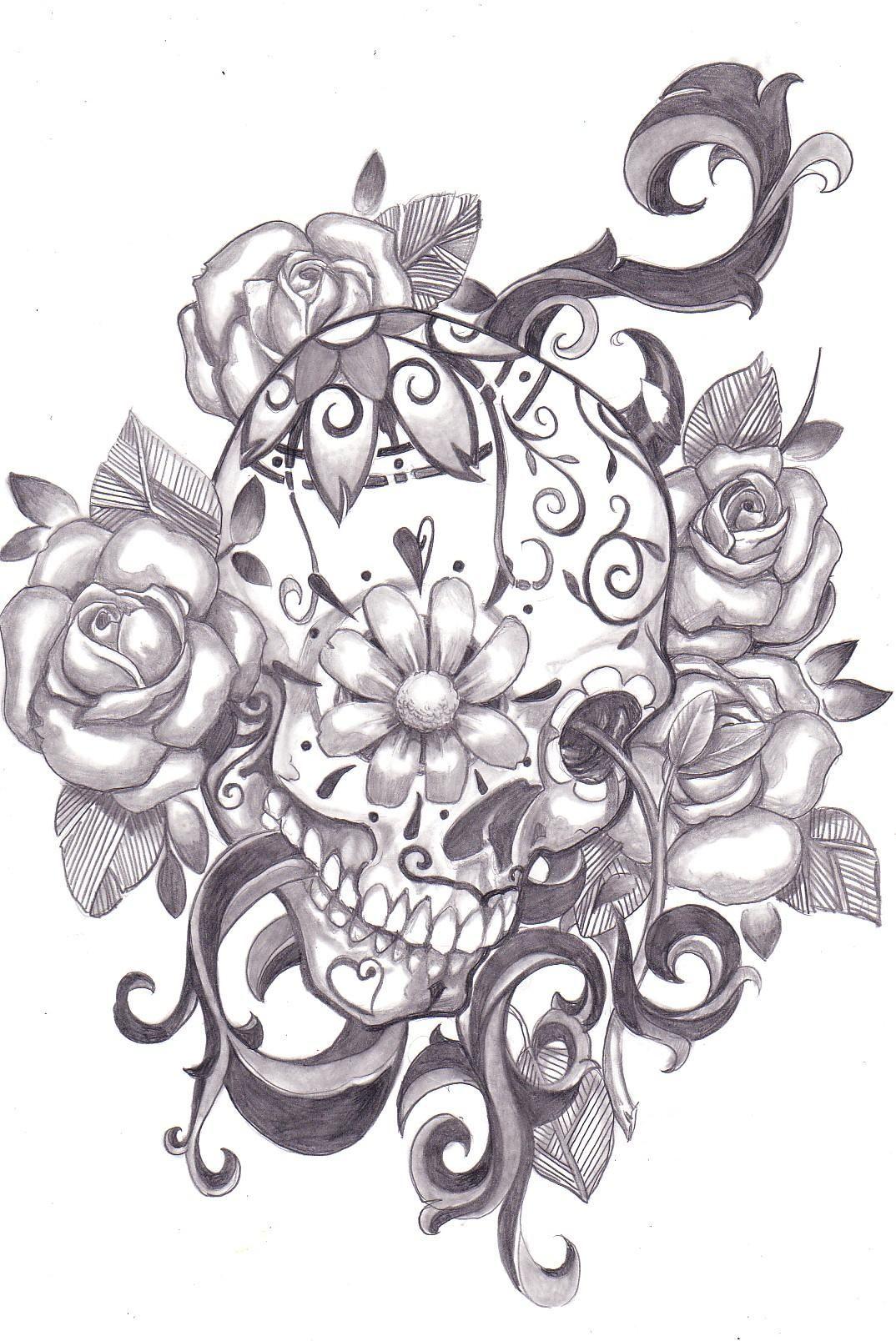 Tattoo Designs Skull Candy Tattoo Designs Sugar Skull Tattoos Tattoos Skull Tattoos