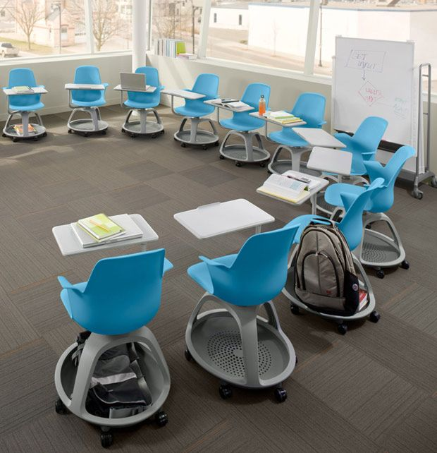 Core77 design awards node chair space saving desk and desks - Great contemporary school furniture ...