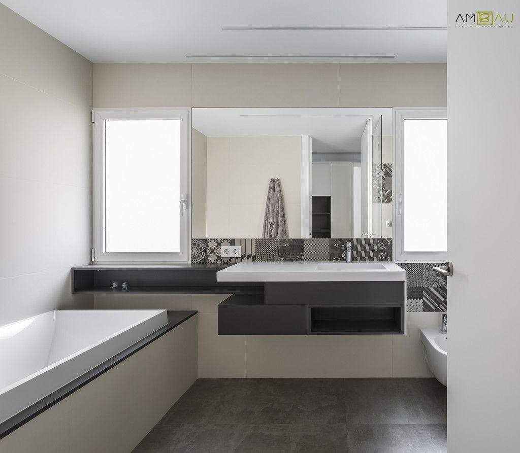 Fotos de ba os de estilo minimalista vivienda en blasco for Fotos de banos minimalistas