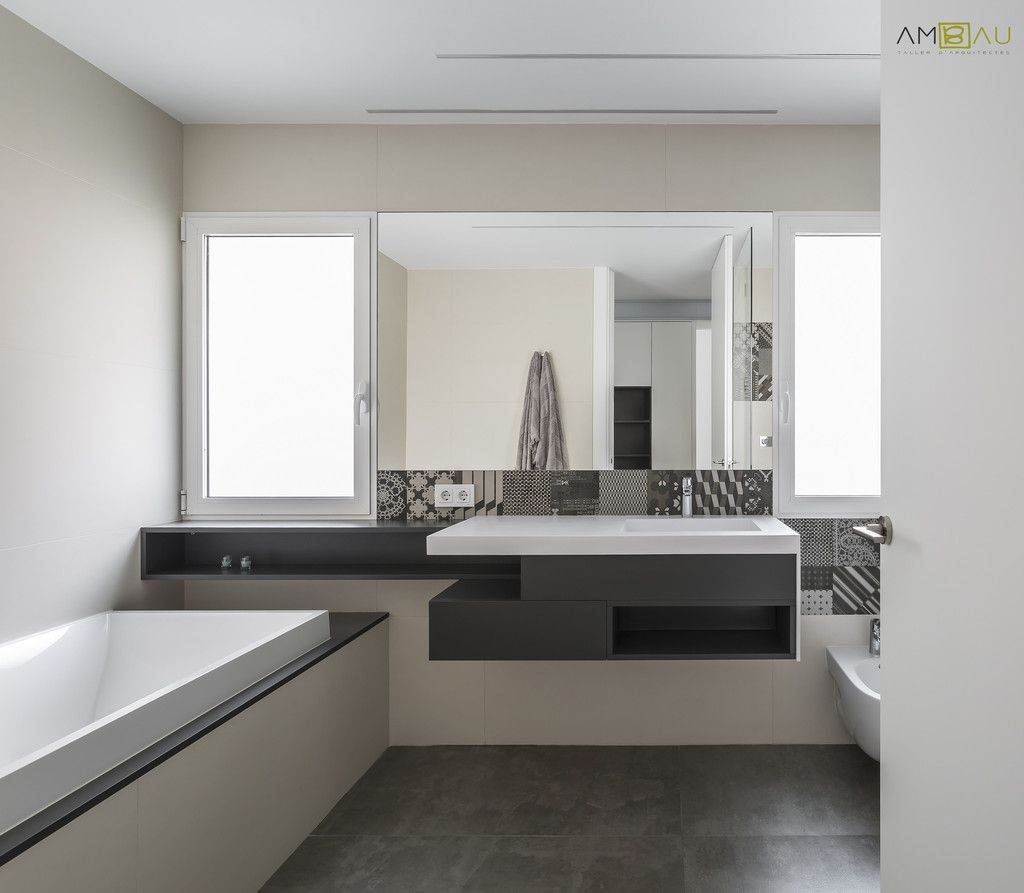 Fotos de ba os de estilo minimalista vivienda en blasco for Viviendas estilo minimalista