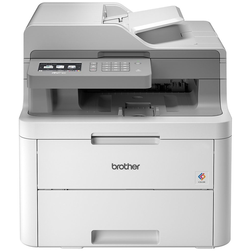 Best Home Office Laser Printer Copier Scanner: Brother MFC-L3710CW Color All-in-One Laser Printer With