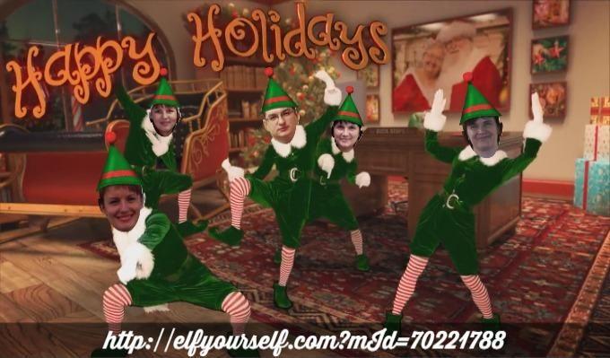 - Christmas Elf Dance App