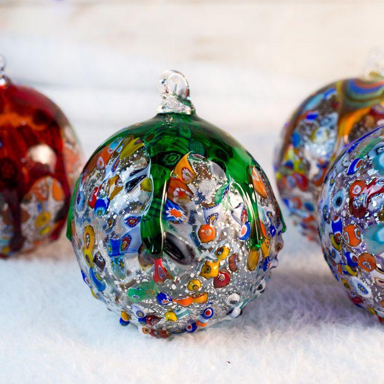Xmas 1st Set 4 Christmas Balls For Home Decor