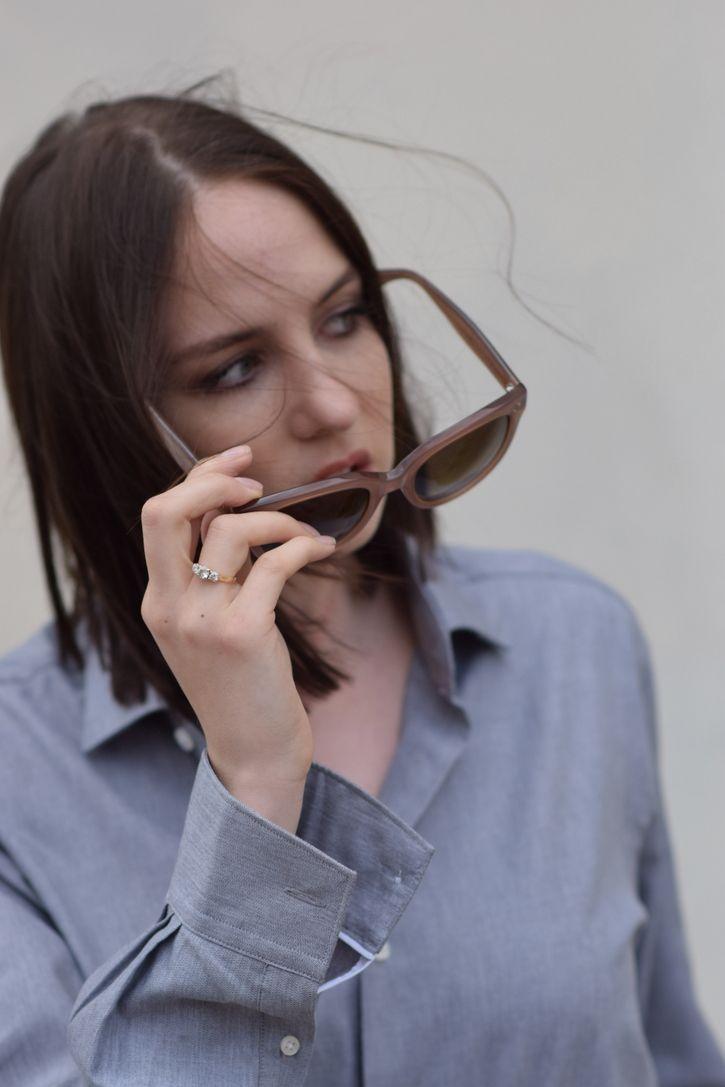 07444f4481d53  lizzyhadfield wearing Celine  sunglasses http   www.smartbuyglasses.com