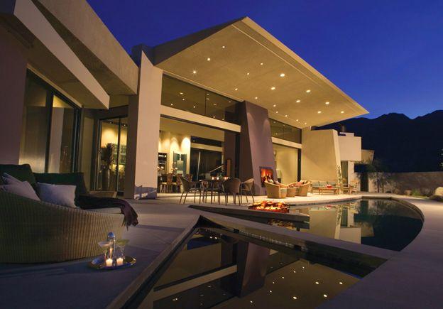Palm Springs, CA Mid-Century Modern revival home