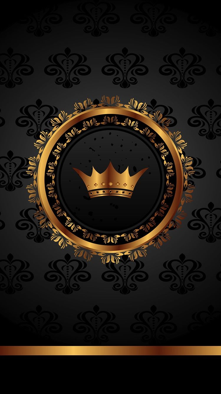 Pin de King 👑 em Black & Gold Wallpaper | Celular wallpaper, Tatuagem de  rosto feminina, Desenho diamante