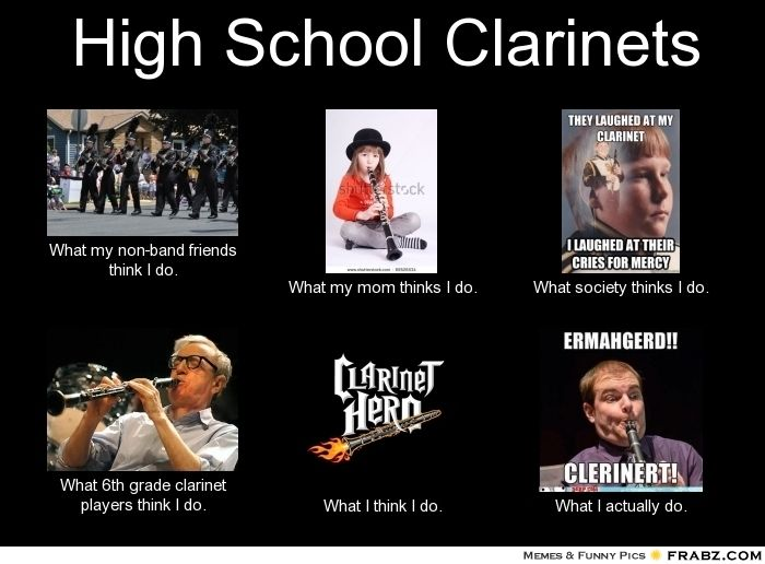 eef945fdb35183b94db403dec0fbdfc1 clarinet memes pinteres