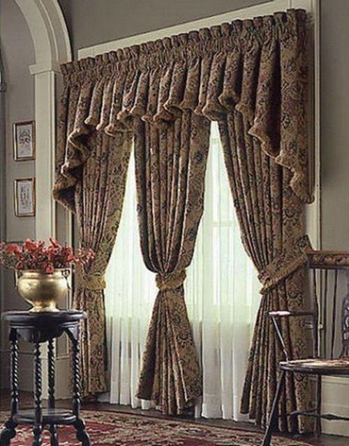 Charming Classic Curtains Designs