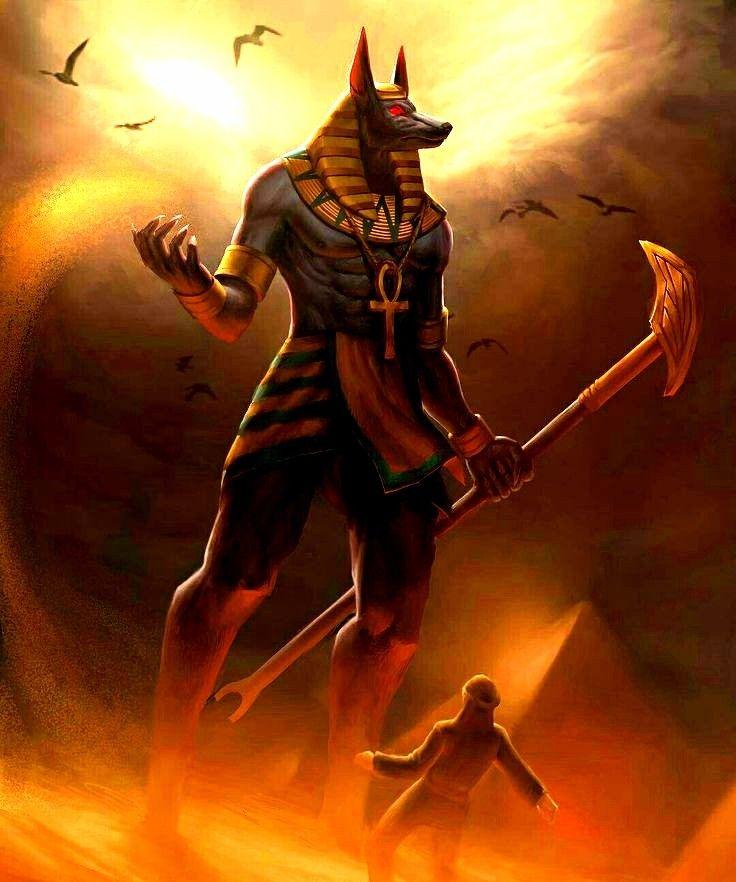 Картинка египетский бог