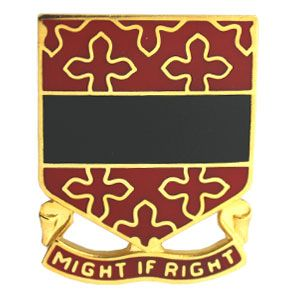 Distinctive Unit Insignias for 182nd Field Artillery Regiment and 182nd Field Artillery Battalion(in World War II) Michigan National Guard
