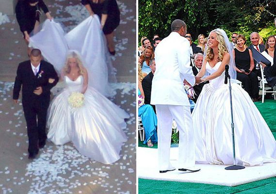 Kendra Wilkinson co-designed her wedding dress with Armine ...
