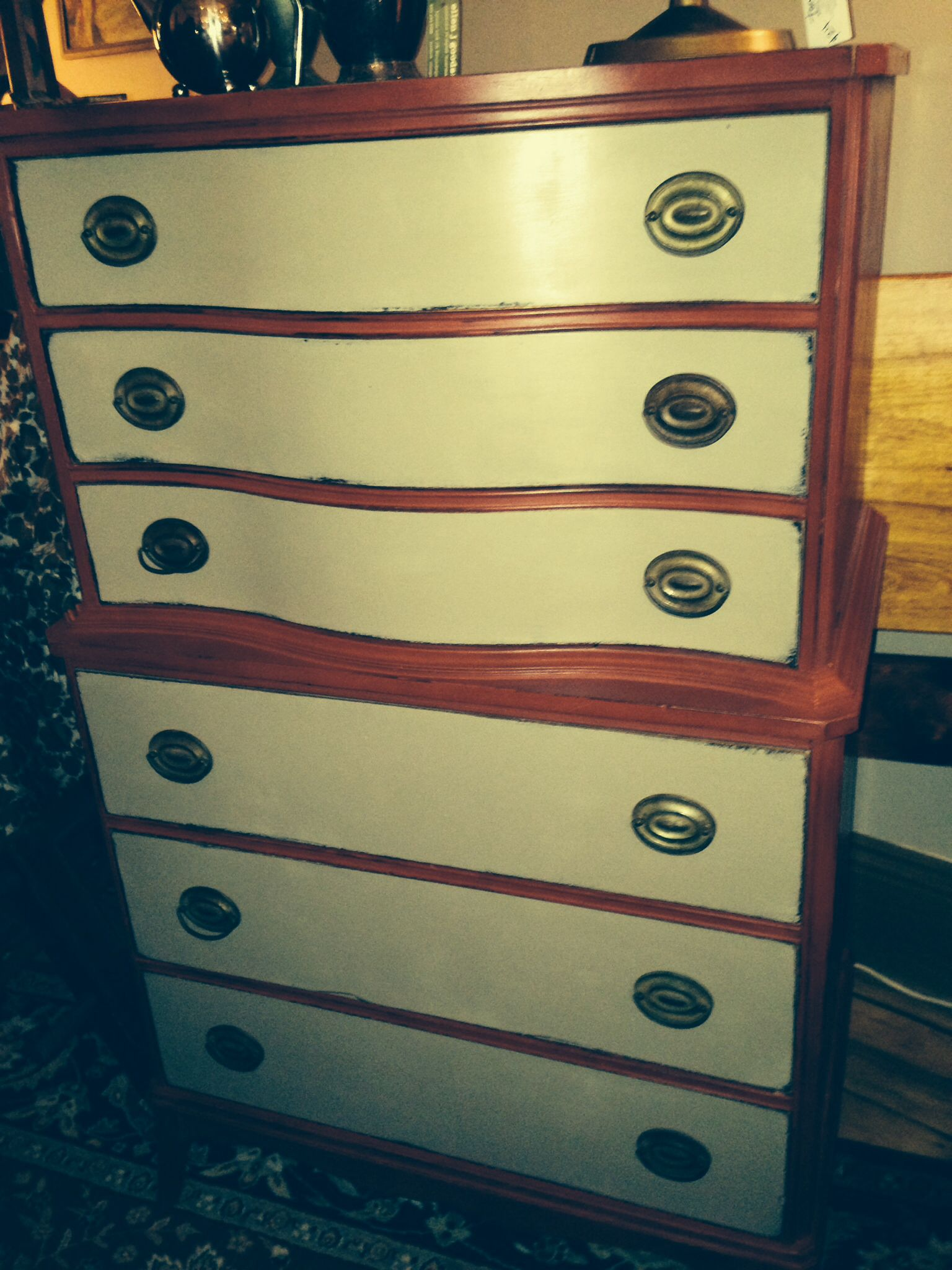 highboy for your boy antique dresser antiques ombre on fantastic repurposed furniture projects ideas in time for father s day id=36089