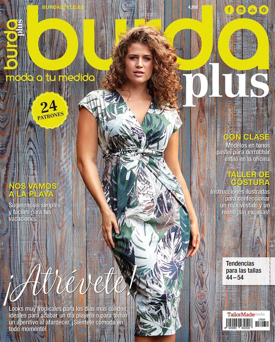 burda Plus Primavera/Verano 2017 | Sewing Dresses | Pinterest | Sew ...