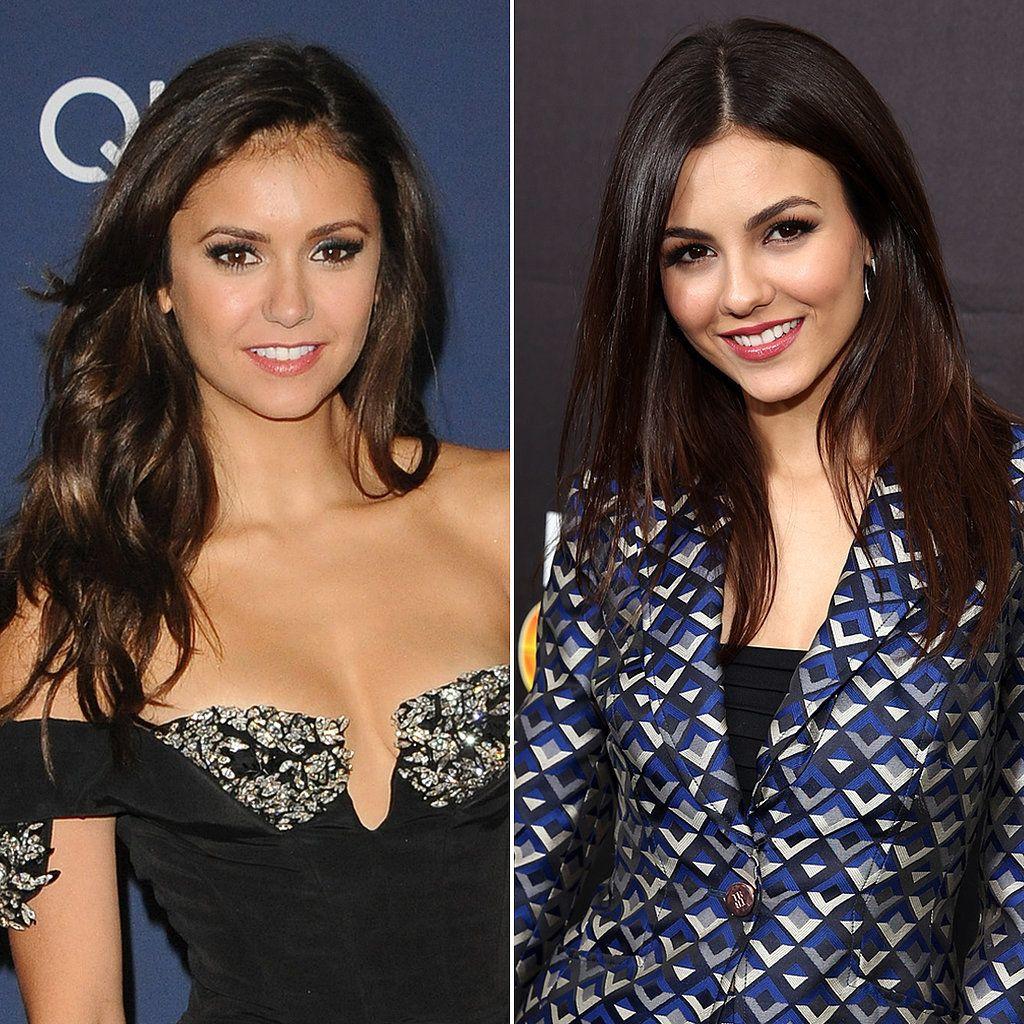 Nina Dobrev And Victoria Justice Victoria Justice Celebrity Look Celebrity Look Alike