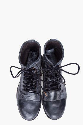 KSUBI Black Newman Boots