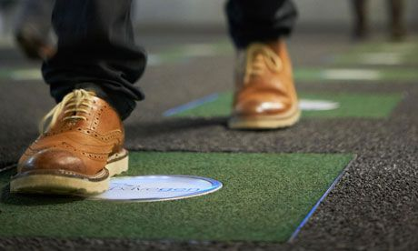 These Floor Tiles Let You Generate Energy Just By Walking Around Renewable Energy Kinetic Energy Energy Conservation