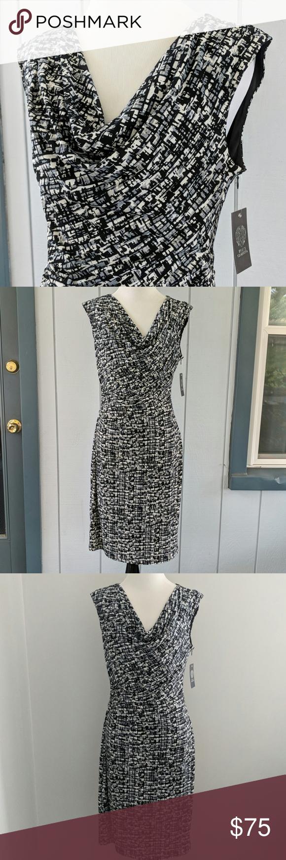Vince Camuto Dress Nwt Dresses Vince Camuto Dress Clothes Design [ 1740 x 580 Pixel ]