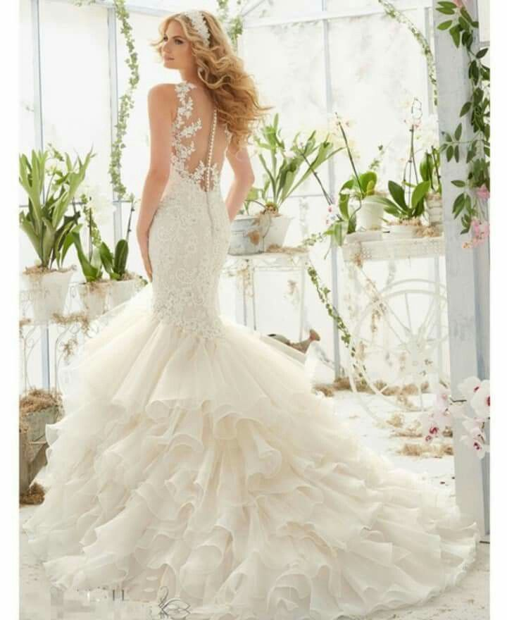 Mori Lee 2019 Wedding Dresses: Pin By Hannah Danielle On Wedding: Brides Dress In 2019