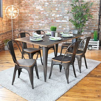 Trent Austin Design Claremont 7 Piece Dining Set Dining Table Setting Modern Dining Room Set