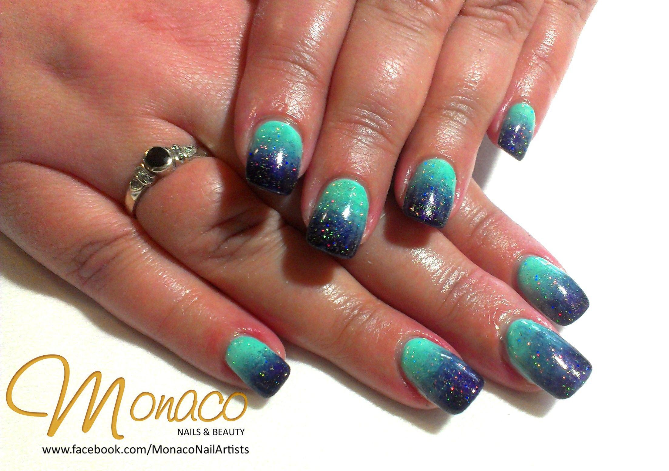 Ombre ColourGloss Nails! NailsByMonaco do an amazing job