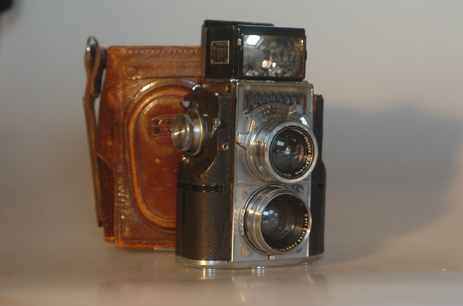 Details about ZEISS IKON Contaflex 35mm TLR twin lens Sonnar