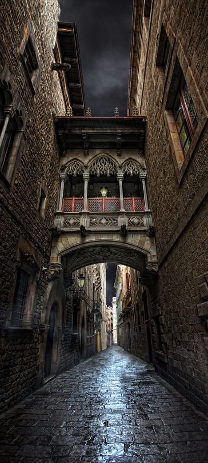 Barrio Gotico Barcelona Spain