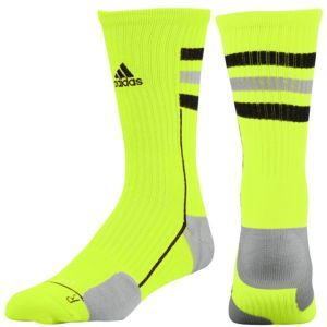 c7e9e78d1 adidas Team Speed Crew Sock - Men's - White/Aluminum/Black ...