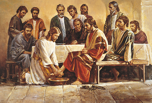 Said Jesus ldquoDo you really understand what I have done to you You call me Master, and you say well, for so I am. If, then, the Master has washed your feet, w