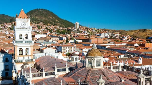 Sucre is one of Bolivia's safest cities (Credit: Credit: Jesse Kraft/Alamy)