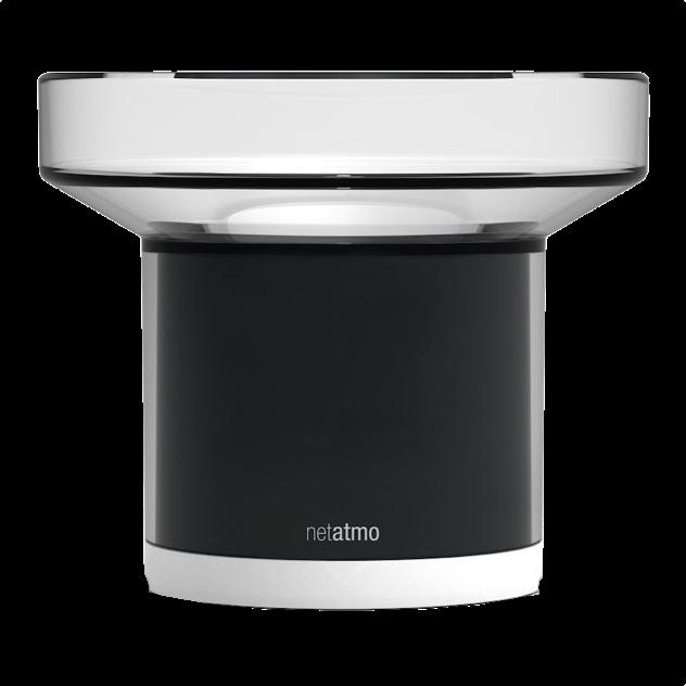Home Automation Funk netatmo wetterstation regensensor niederschlagsmengen messen mit