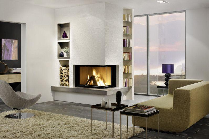 16 eck kamin mit holzfach und buecherregal kamine pinterest ofen ofen kamin und wohnzimmer. Black Bedroom Furniture Sets. Home Design Ideas