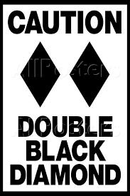 Bildresultat för double black diamond