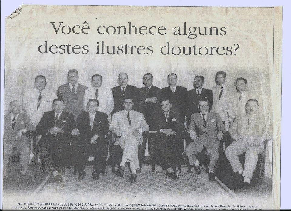 Congregação da Faculdade de Direito de Curitiba