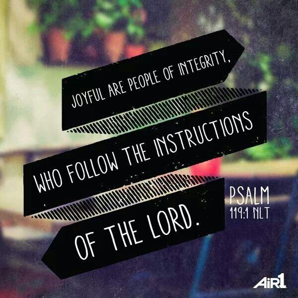 Psalms 119:1