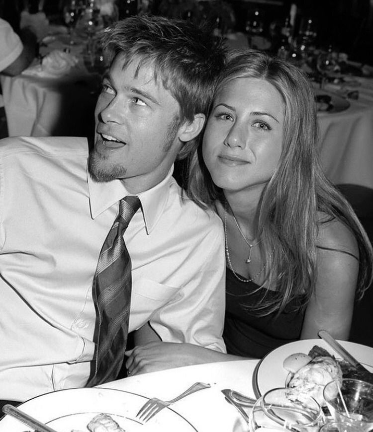 Brad Pitt Jennifer Aniston Brad Pitt Jennifer Aniston Brad And Jennifer Brad Pitt And Jennifer