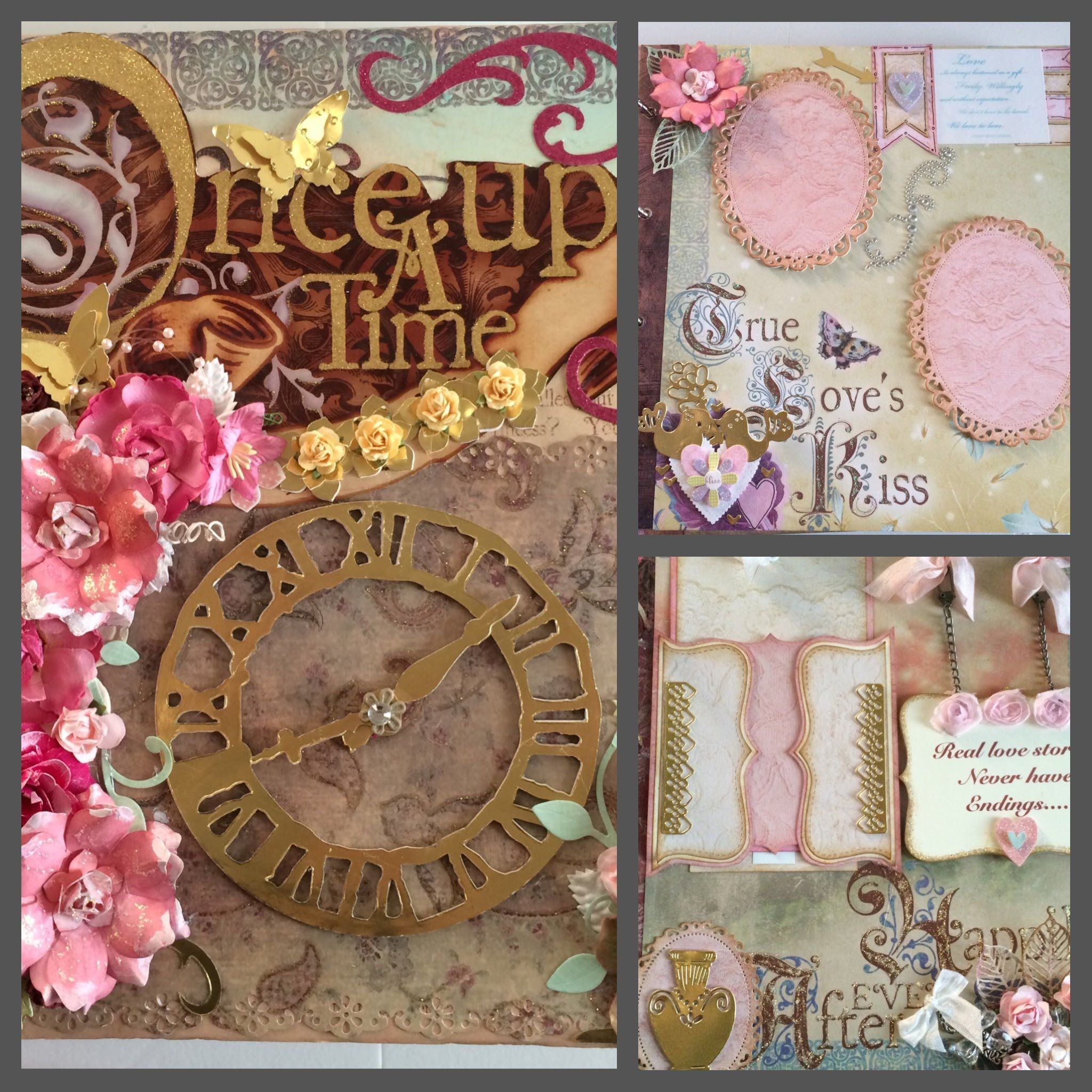 My Once Upon A Time Album. Ideas for your scrapbook.