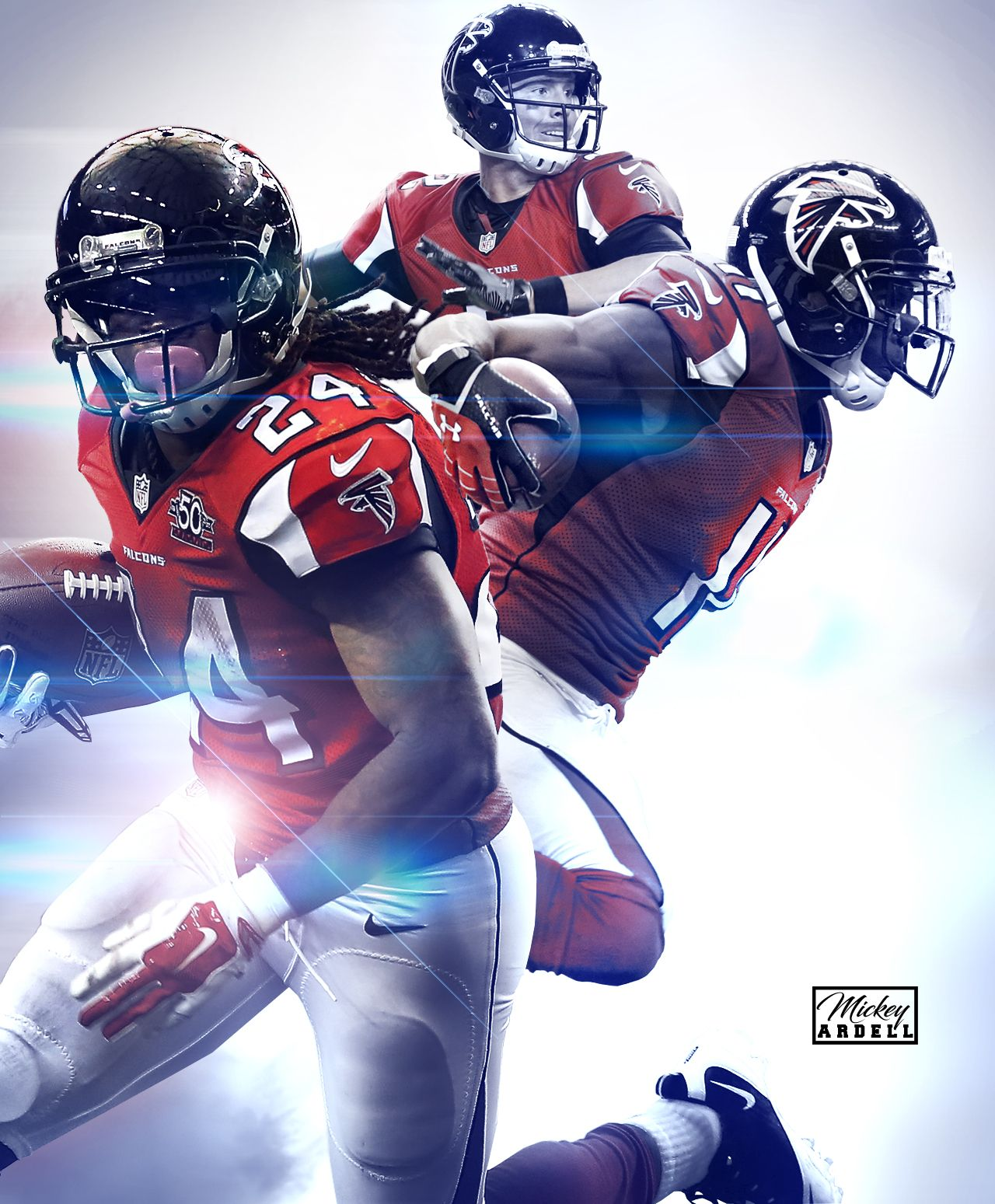 Atlanta Falcons Devonta Freeman Julio Jones Nfl Wmcskills Atlanta Falcons Football Atlanta Falcons Atlanta Falcons Art