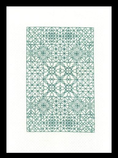 Blackwork Fantasy - free cross stitch pattern | Sticken | Pinterest ...