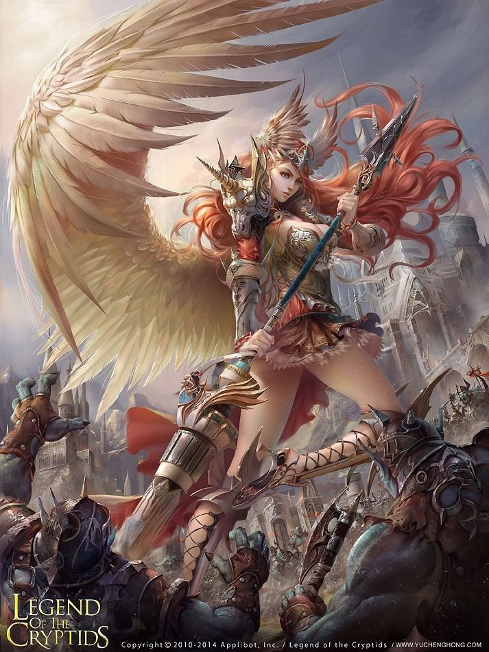 Angel Evolved Legend Of The Cryptids Con Imagenes Personajes