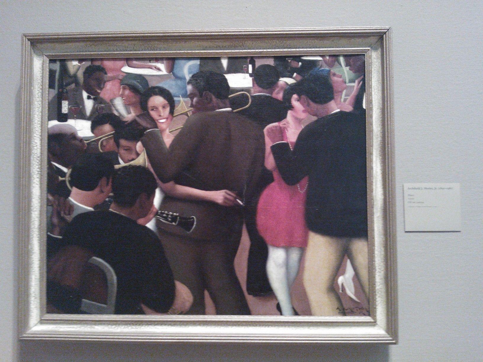 Iemand die weet wie dit schilderde? Gezien in Chicago, bijschrift onleesbaar gefotografeerd. gewoonweg geweldig mooi
