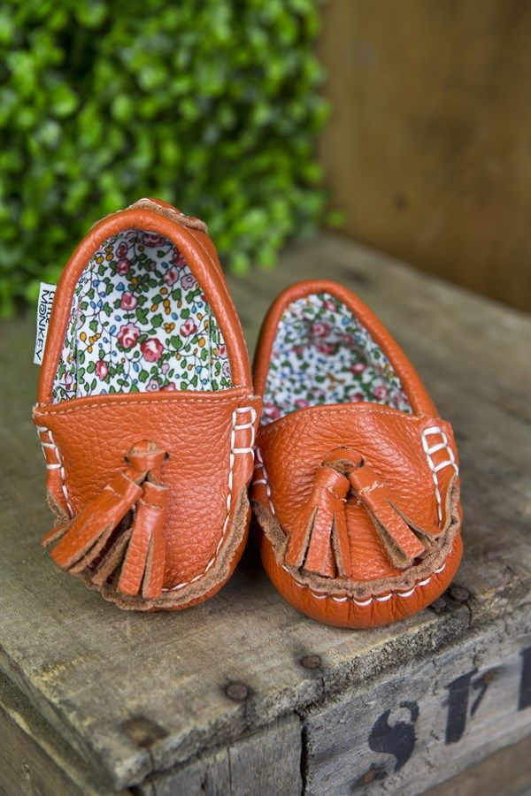 Retiring Style Leather Moccasins | Clearance | Jane
