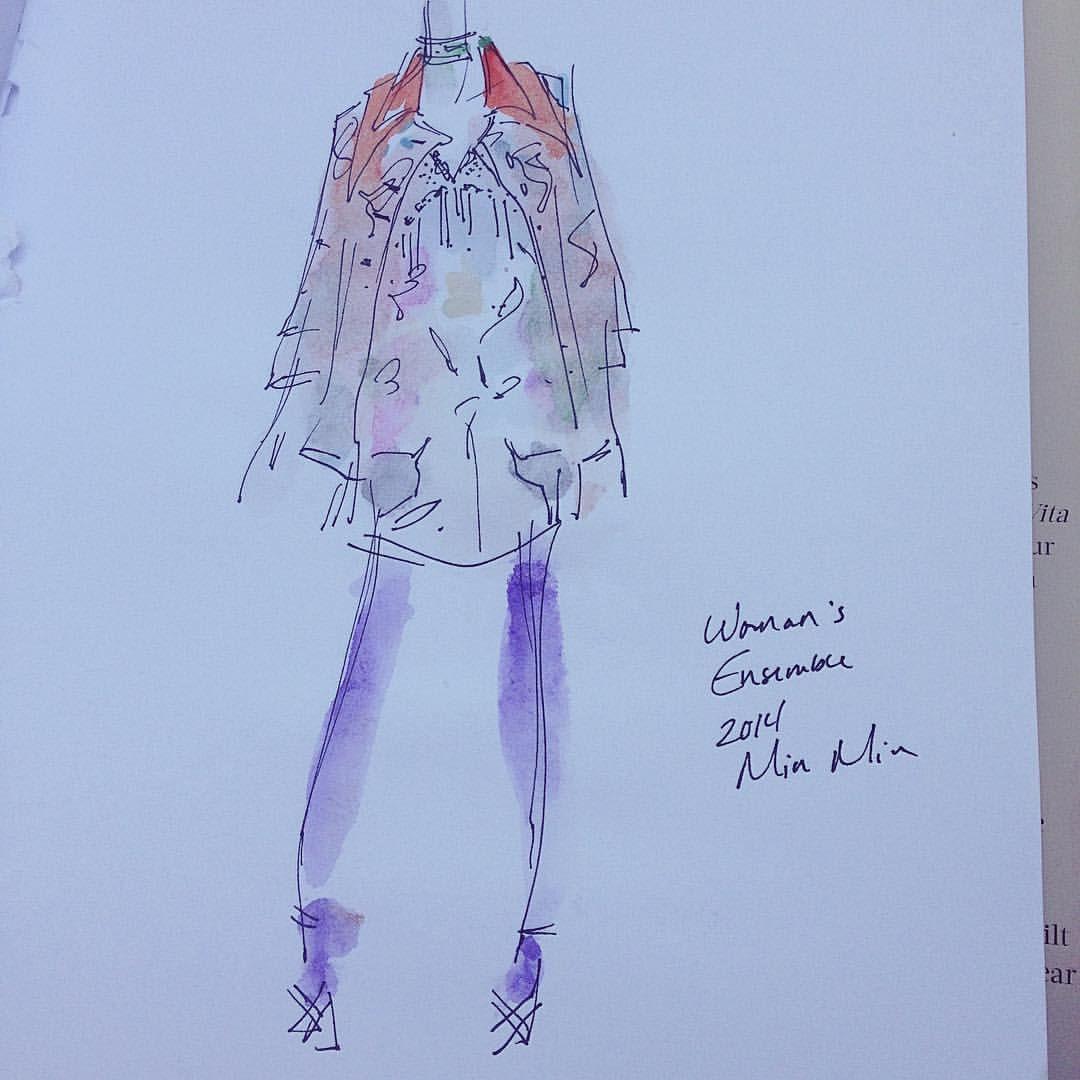 Miu Miu, 2014. You can buy Fairyish art at http://www.redbubble.com/people/feelingfairyish #art #cute #animation #cartoon #illustration #characterdesign #design #visdev #visualdevelopment #sketchbook #artistsoninstagram #conceptart #fashion #style...